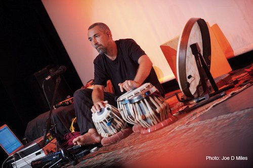 Jon Sterckx - Tabla & Percussion. Indian music & World Rhythm performances & workshops. Stroud & Devon UK