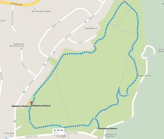 Waiatarua Reserve loop