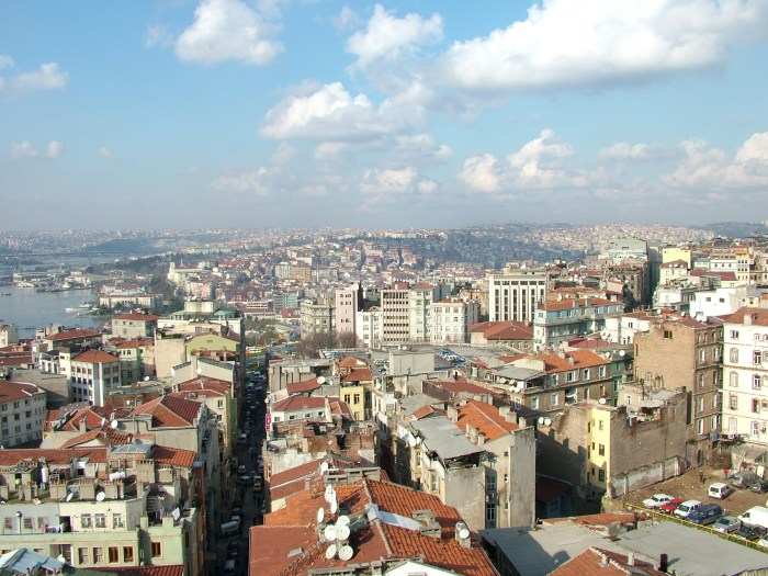 DSCF1633 Galata Tower View of Istanbul North
