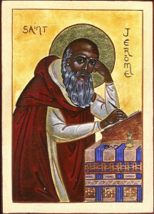 St. Jerome Icon