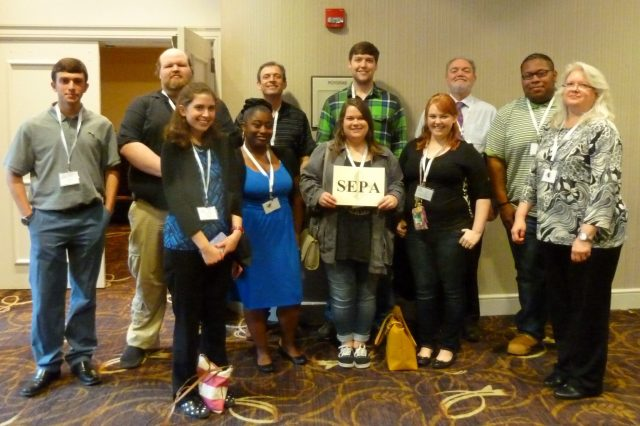 As I said earlier, I've been at Delta State since 2014, and have gotten to do some really fun things in that time. Last spring we took a group of Psychology students down to New Orleans for the Southeastern Psychological Association meeting (SEPA). Pictured here are the students, along with a few other DSU faculty (Drs Zengaro, Beals, and Zengaro).