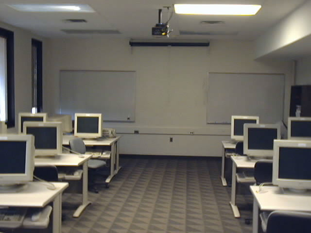 This was the first college classroom I ever taught in, Schrank Hall North 452. I was hired in Fall 2001 to teach A+ Certification, an entry level computer technician course at The University of Akron, and in February 2002, I taught my first solo class in this room.