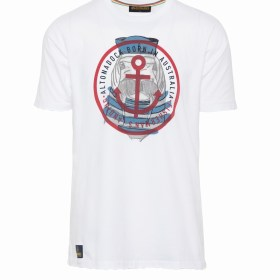 CAMISETA BLANCA FISHERMAN