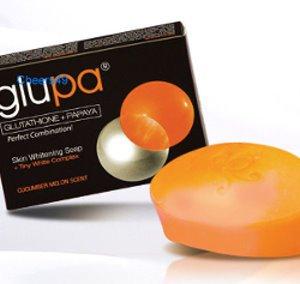 12 Glupa papaya whitening soap new