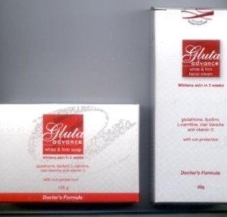 2 Gluta Advance whitening set new