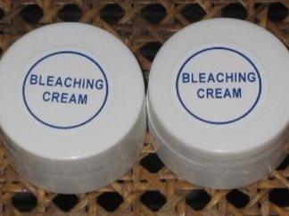 Bleaching cream new