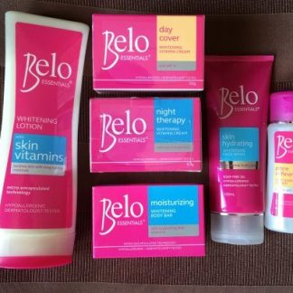 belo 6 pc whitening set new