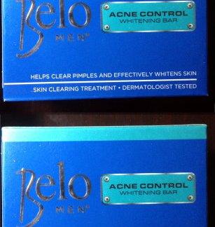 belo men acne control soap new