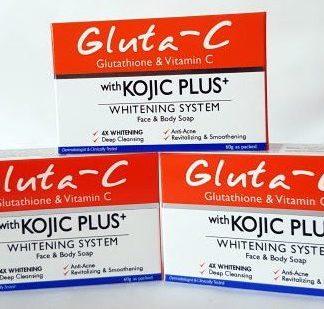 gluta c kojic plus soaps 3