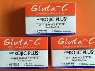 gluta c kojic plus soaps new