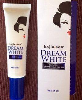 kojie san dream white correcting cream new