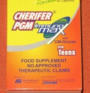 30 caps Cherifer PGM Immunomax new