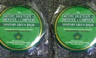 2 Sanitary Green Balm new