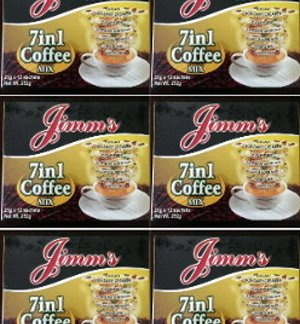 6 Boxes Jimm's 7 in 1 Herbal Coffee new