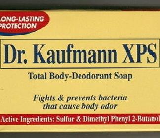 Dr. Kaufmann Deodorant Sulfur Soap new