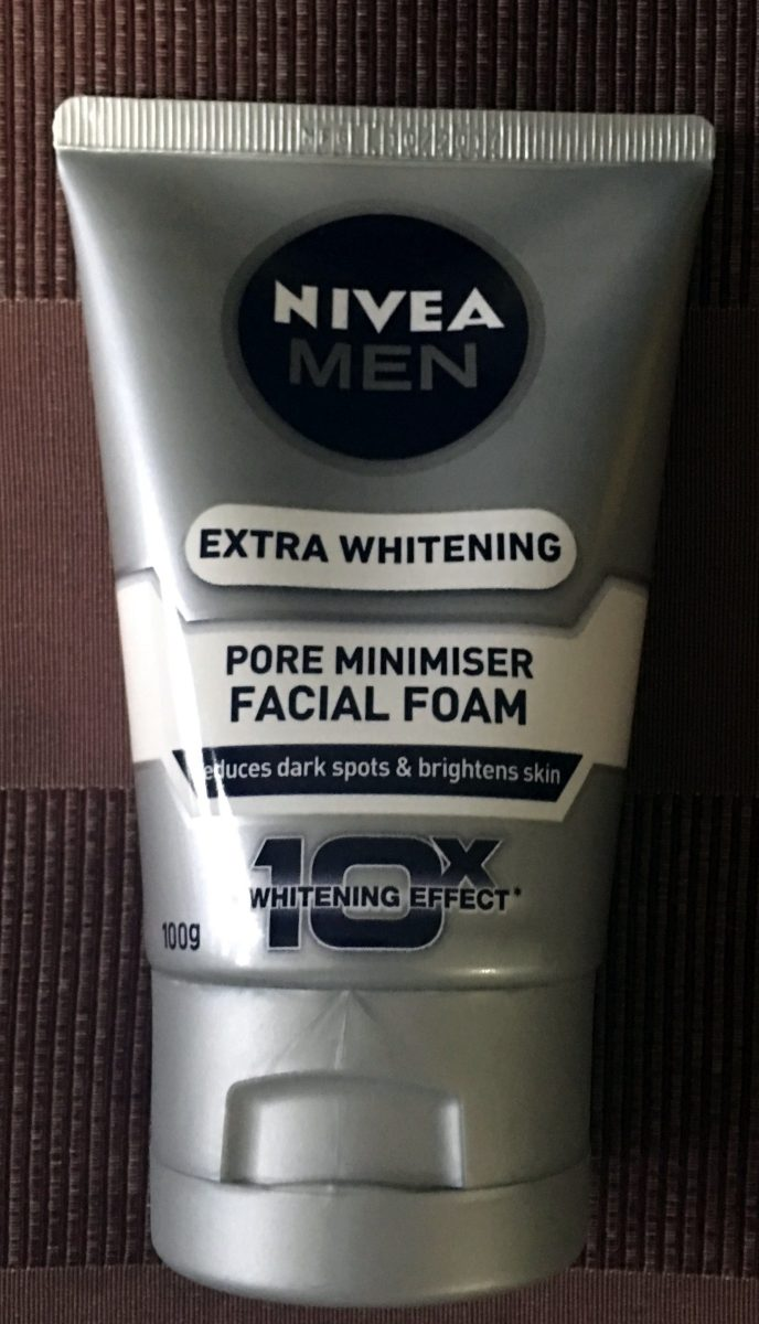Nivea Men Extra 10x Whitening Pore Minimiser Facial Foam Reduce