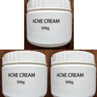 acne cream 3 pcs 500g