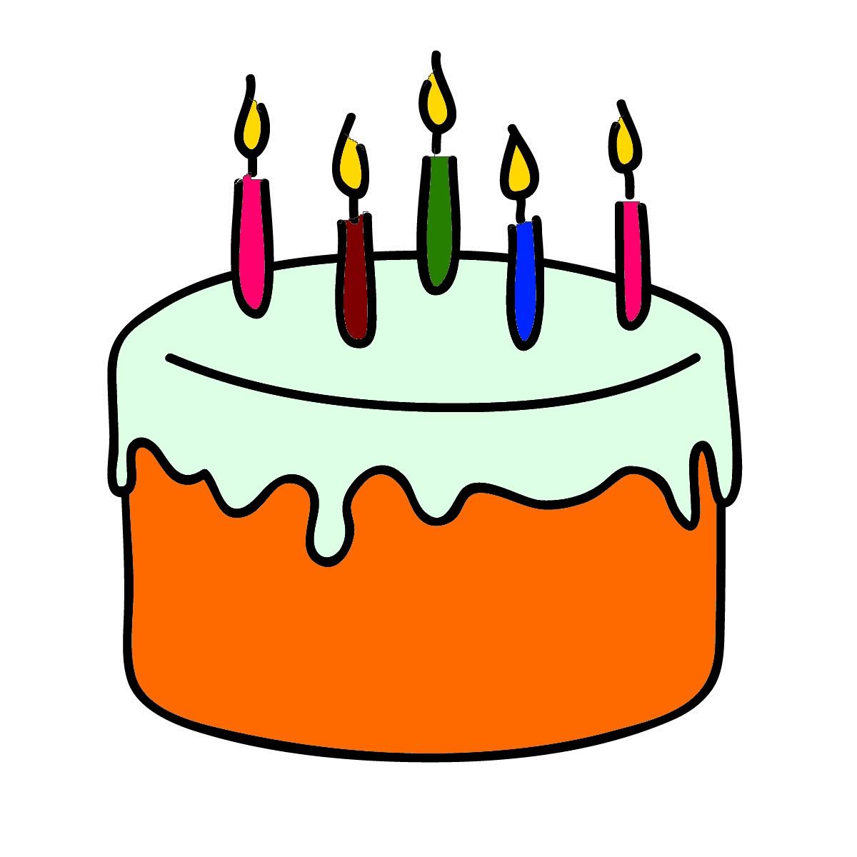Free Photo Birthday Cake Clipart Birthday Cake Candles Free Download Jooinn