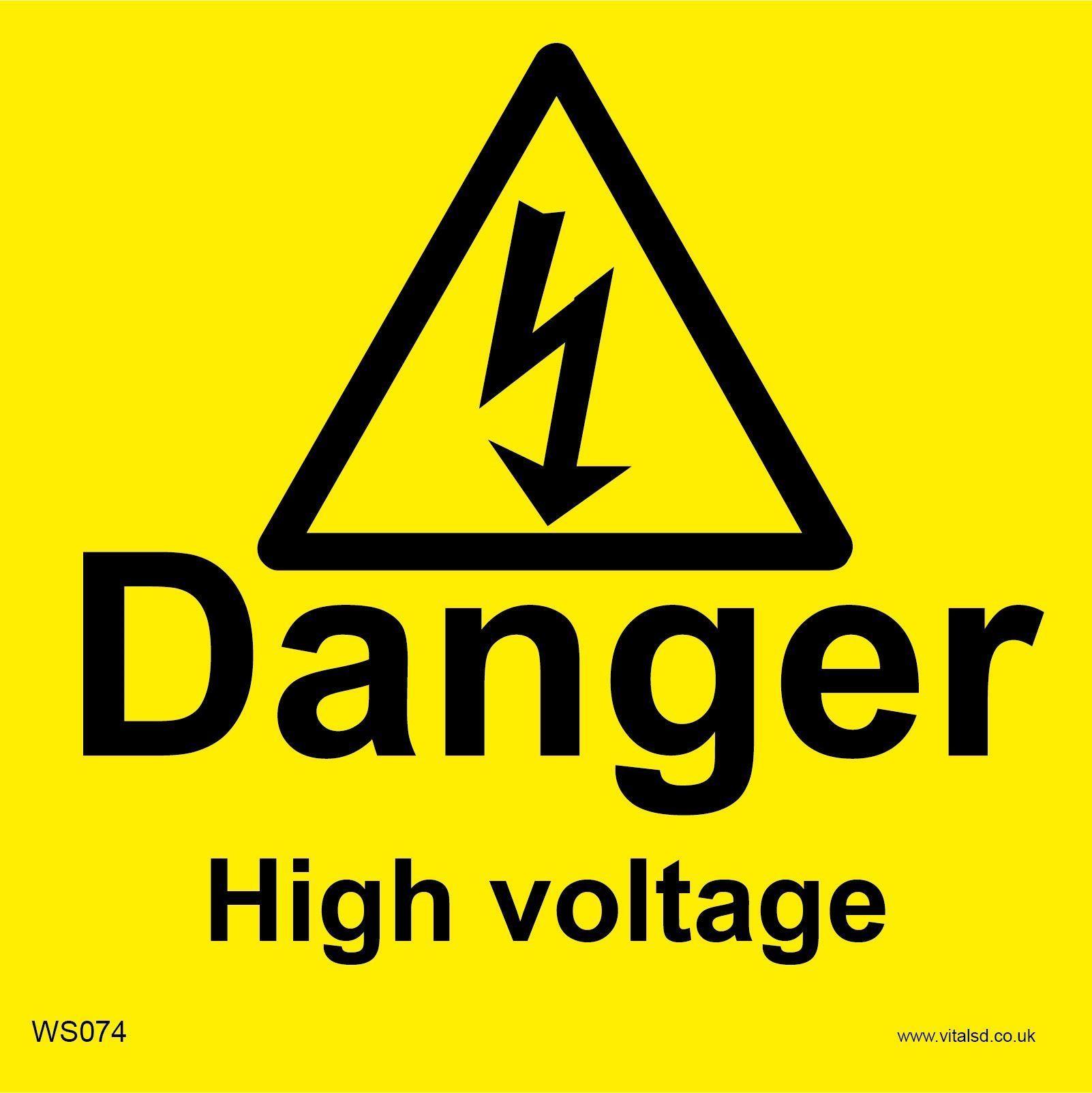 Free Photo Danger High Voltage