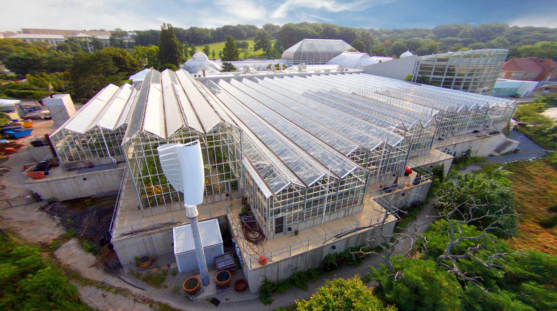 Free Photo View Of Greenhouse