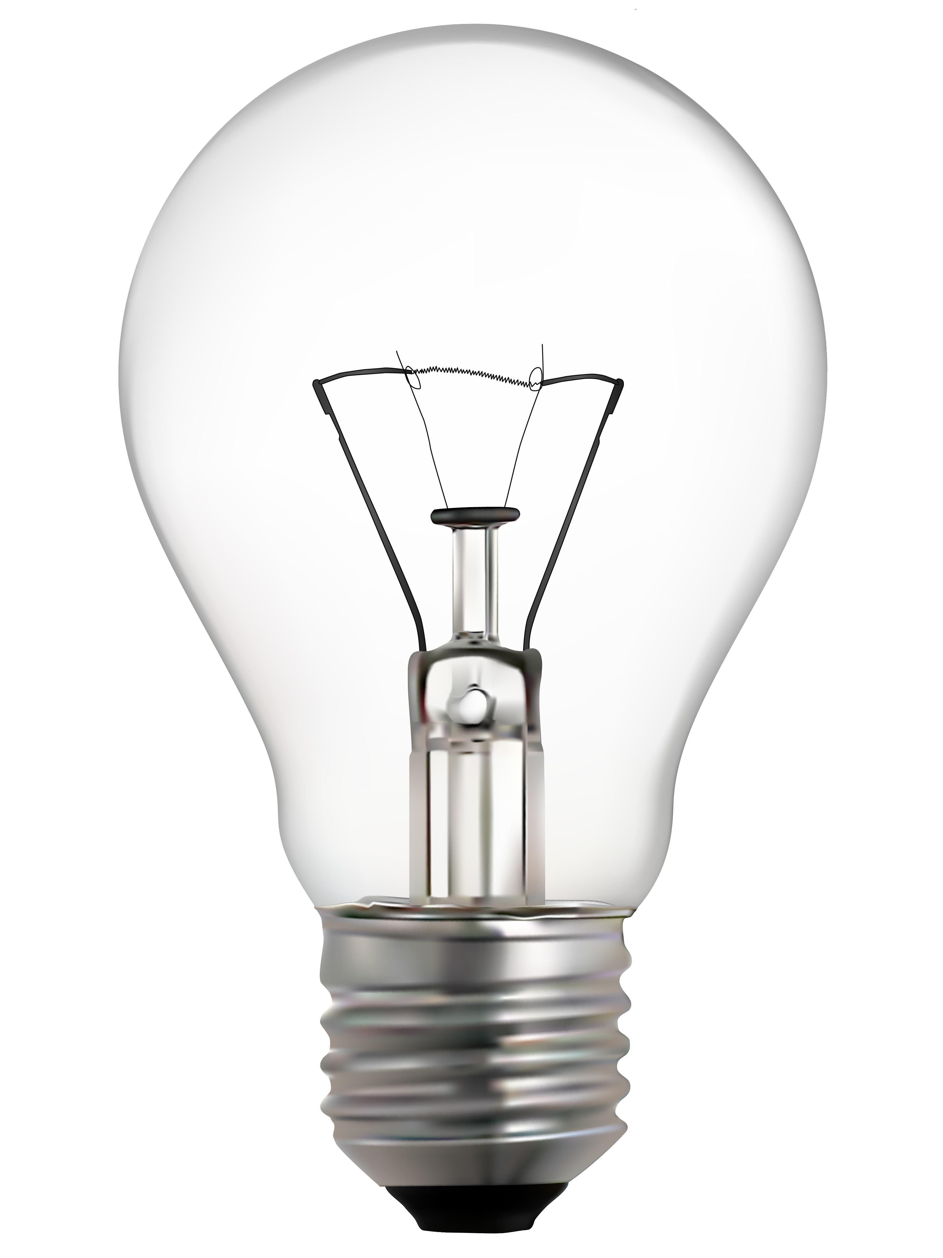Free Photo Isolated Light Bulb Minimal Marketing Line