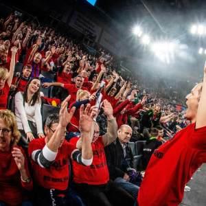 "Last year's ""Red Wall"" (Photo Courtesy of ASV Grünwettersbach)"