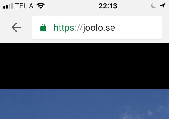 Let's encrypt + Loopia = sant