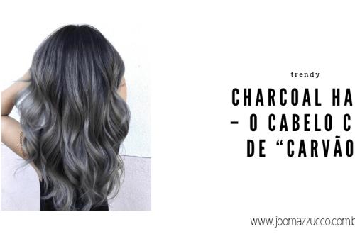 """Elegance Functionality 66 - Trendy: Charcoal Hair - O Cabelo Cor de """"Carvão"""""""