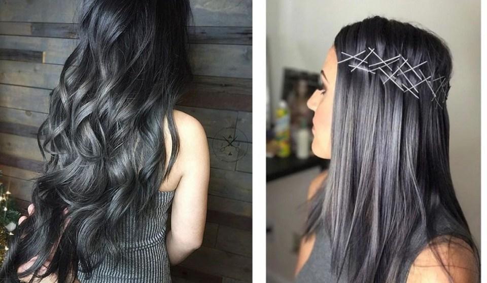 "charcoal - Trendy: Charcoal Hair - O Cabelo Cor de ""Carvão"""
