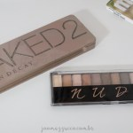 Comparando Naked 2 e Nude da Ruby Rose