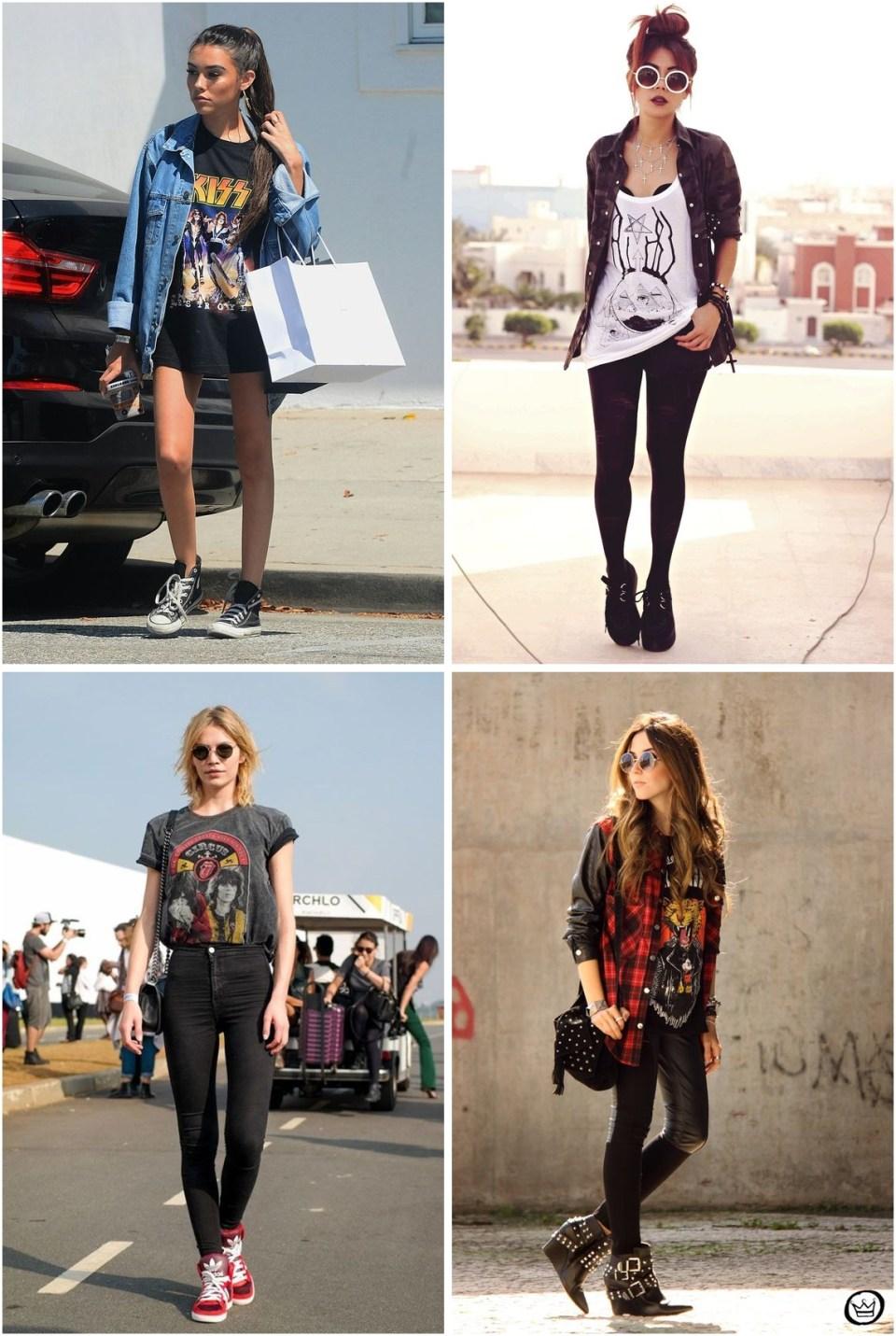 Como usar Longlines - Uma Loja Super Estilosa para Looks Tumblr: A Skull Clothing