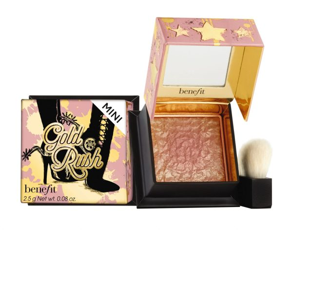 Benefit Cosmetics lança o blush gold rush 3 - O Novo Lançamento da Benefit: Gold Rush