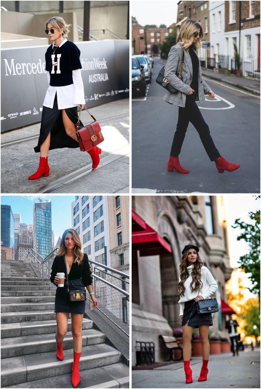 Bota vermelha inspiração 02 - Trendy: A Febre da Bota Vermelha e Onde Comprar por Menos de R$100