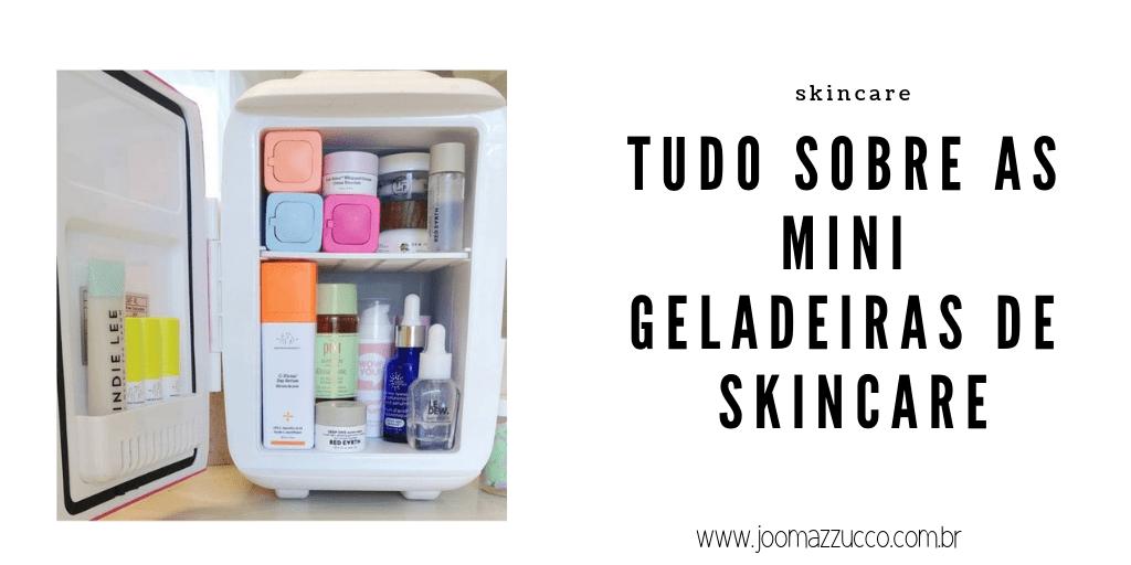 Elegance Functionality 15 - E a tal da Geladeira de Skincare? A #skincarefridge