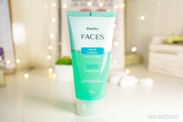 Gel de Limpeza Facial da Panvel Faces
