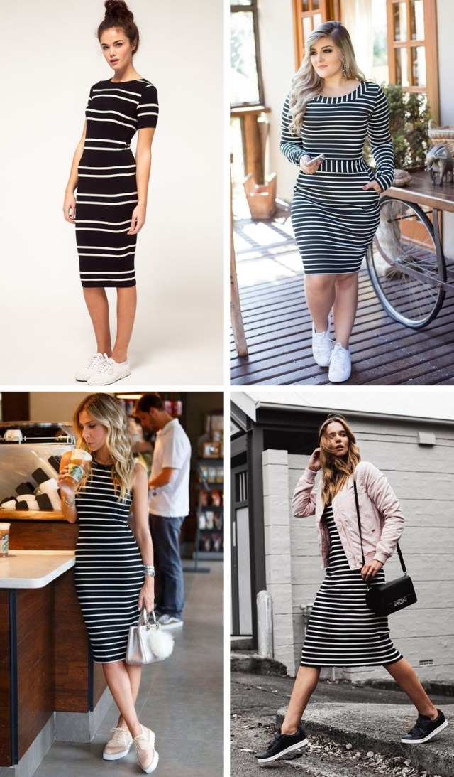Uma seleção de looks com Vestido e Tênis pra inspirar no fim de semana