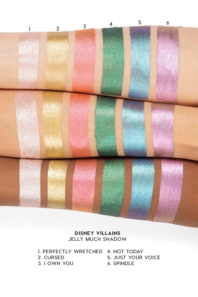 Villans Jelly Much 95d02257 f1ca 4ca2 8dbe f4552f57995b 800x1200 - A Linha de Maquiagens da Colourpop Inspirada nos Vilões da Disney
