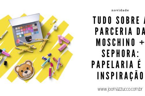 Elegance Functionality 5 - + Uma Parceria entre a Moschino e Sephora: Uma Linha Inspirada em Papelaria