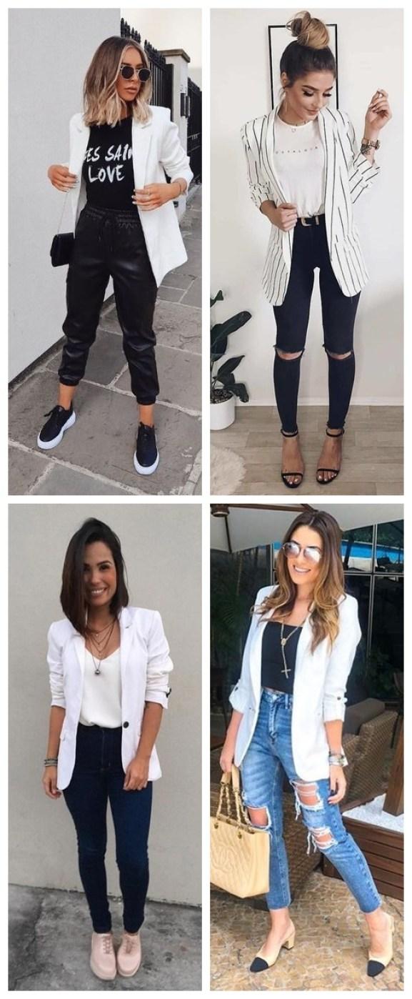 looks com blazer 02 - 10 Looks com Blazer que Provam que o Básico também pode ser Fashionista