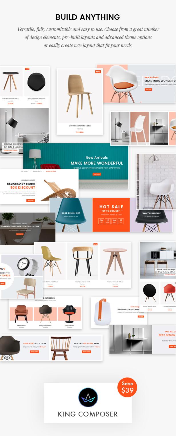 Erado | eCommerce WordPress Theme