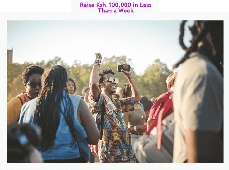 Raise Ksh. 100,000 from business profits