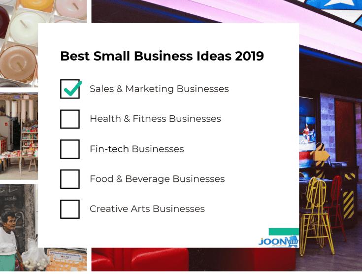 Best small business ideas 2019