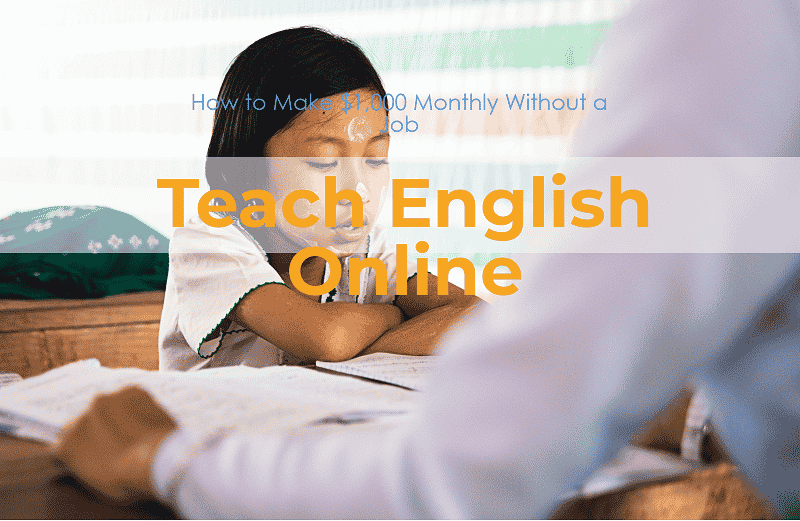 Make money online by teaching English Lessons
