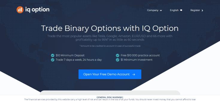 IQ Option platfrom