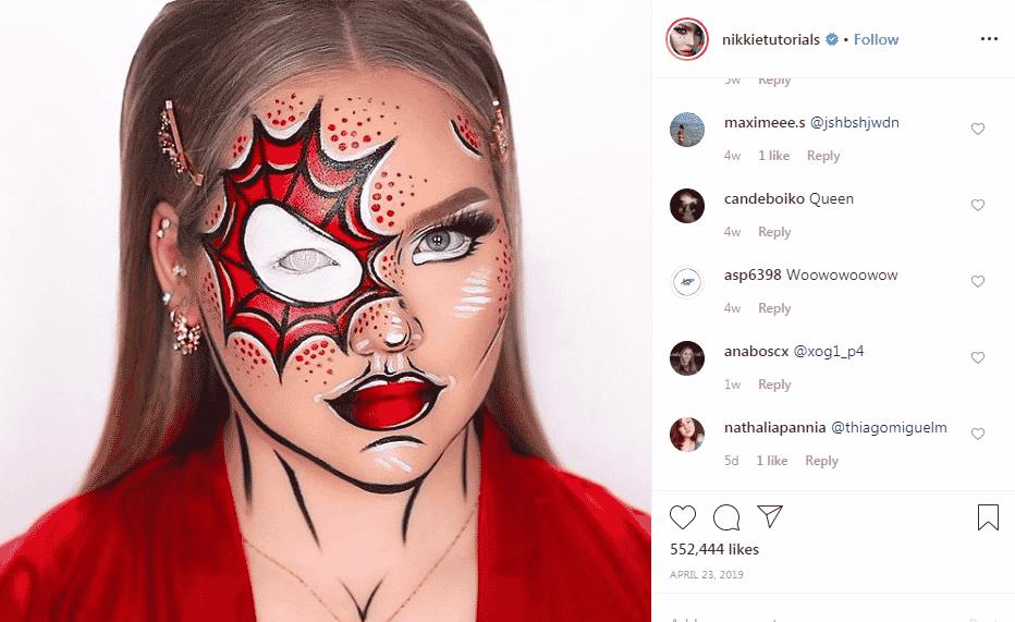 Instagram businesses - beauty blog