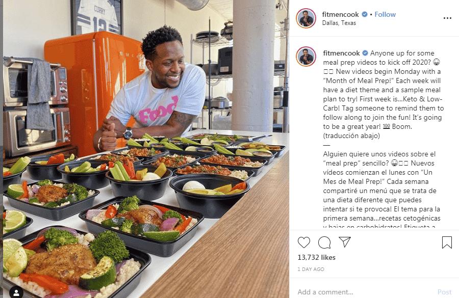Foodie channels on Instagram