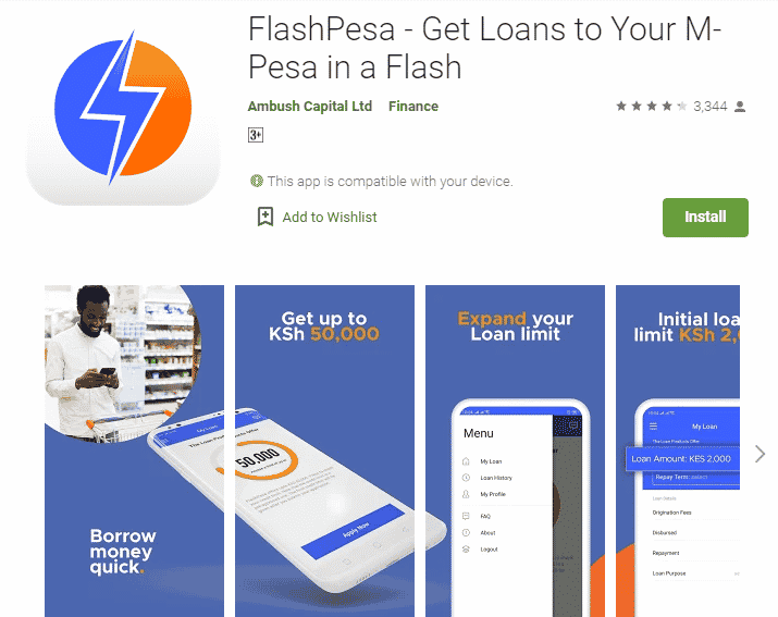 FlashPesa Loan App