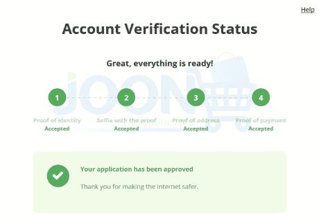 Olymp Trade Account Verification