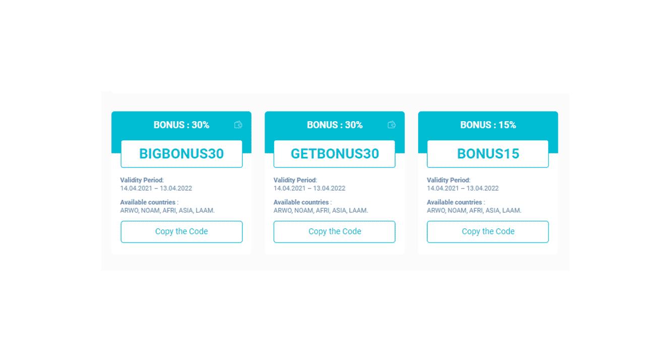 Olymp Trade Bonuses for 2021