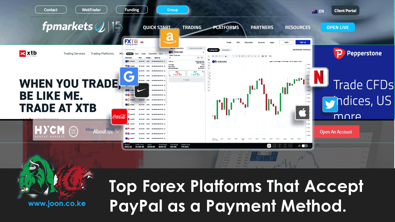 Top Forex Platforms That Accept PayPal